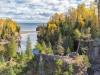 Baptism River meets Lake Superior